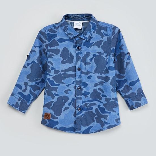 MAX Camouflage Print Full Sleeves Shirt