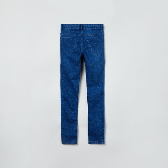 MAX Printed Slim Fit Jeans