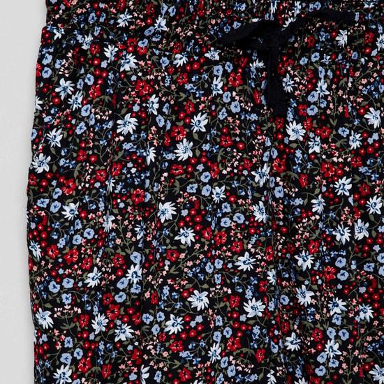 MAX Floral Print Joggers