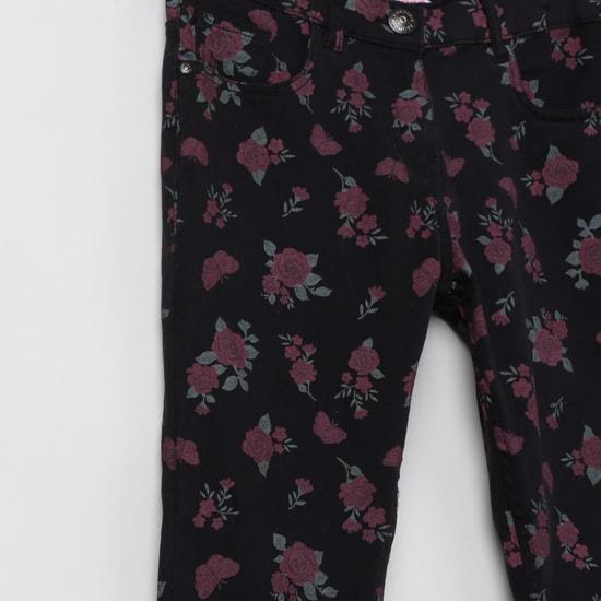 MAX Printed Slim Fit Trousers