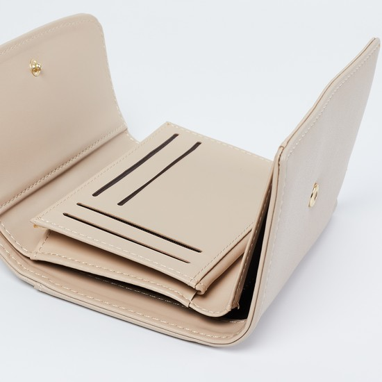 MAX Laser-cut Detailed Tri-Fold Wallet
