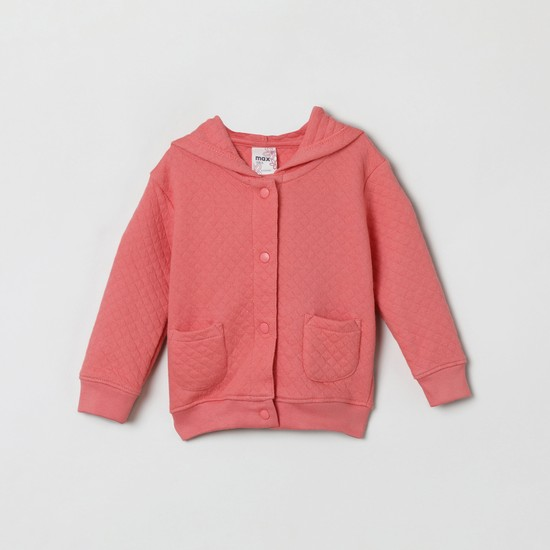 MAX Quilted Hooded Sweatshirt
