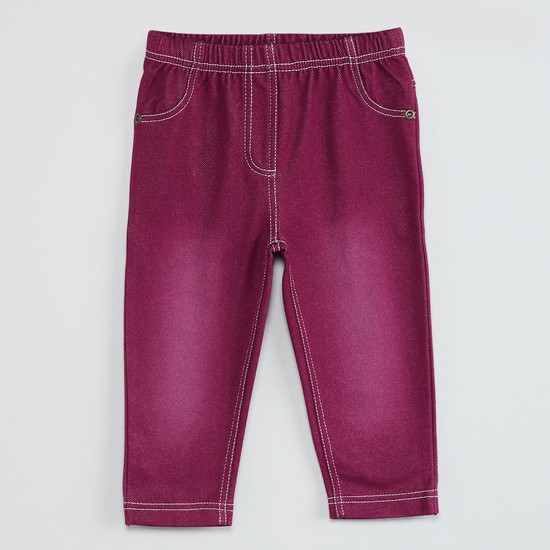 MAX Stonewashed Jeggings
