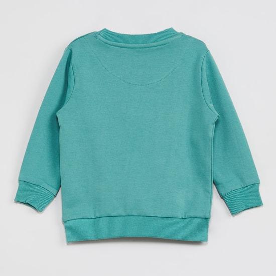MAX Embroidered Full Sleeves Sweatshirt
