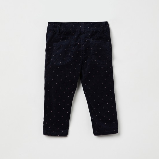 MAX Star Print Slim Fit Trousers