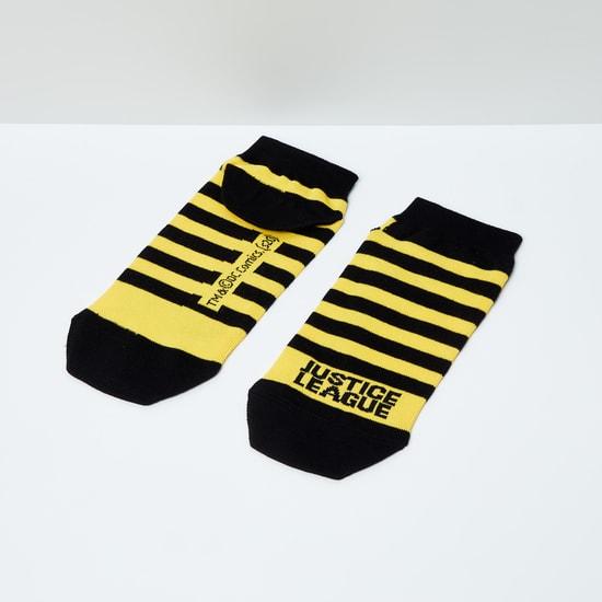 MAX Striped Ankle-Length Socks