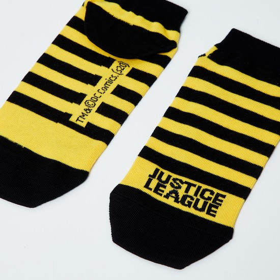 MAX Striped Ankle-Length Socks - 10-12Y