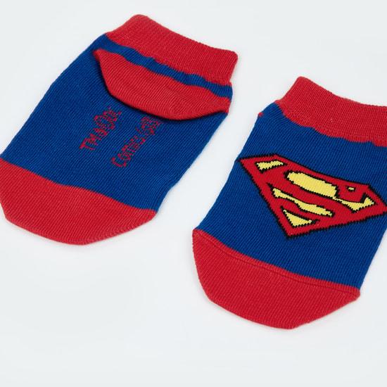 MAX Superman Pattern Socks - 7-10Y