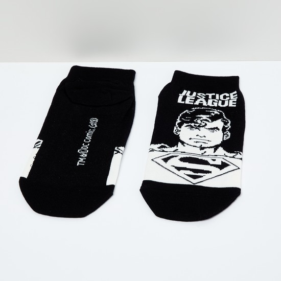 MAX Superman Print Socks