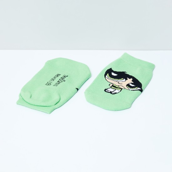 MAX Powerpuff Girls Patterned Footlets