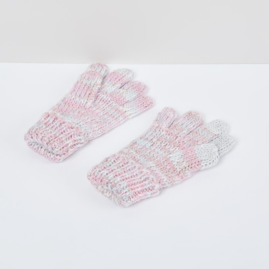 MAX Textured Flat-Knit Gloves