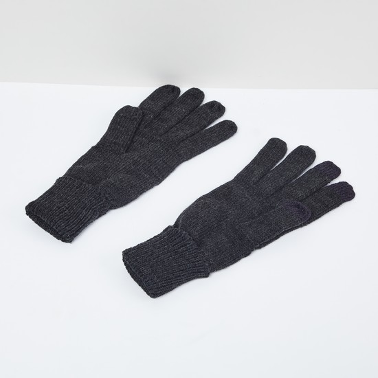 MAX Solid Knitted Gloves