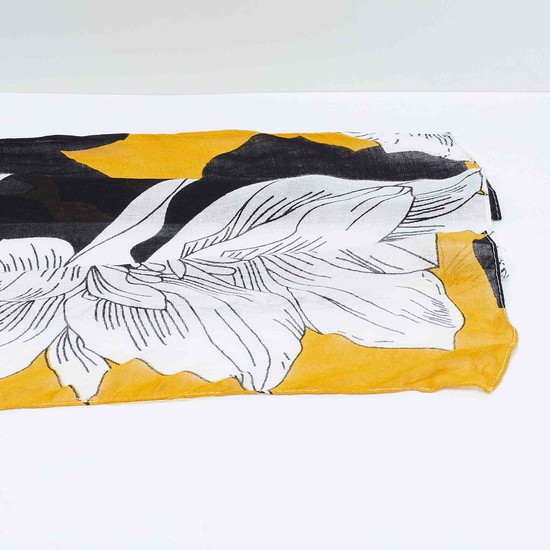 MAX Floral Printed Scarf
