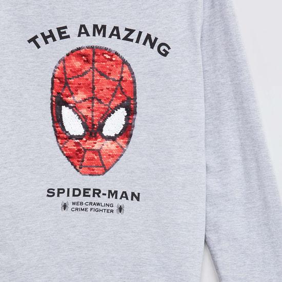 MAX Spiderman Print Full Sleeves T-shirt