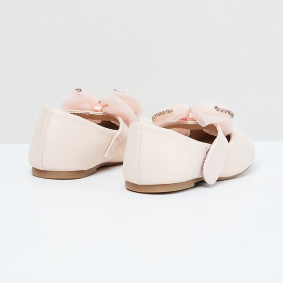 MAX Mary Janes with Embellished Bow