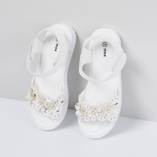 MAX Embellished Velco Sandals