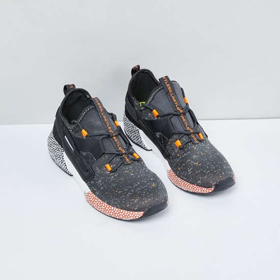 MAX Printed Lace-Up Sports Shoes