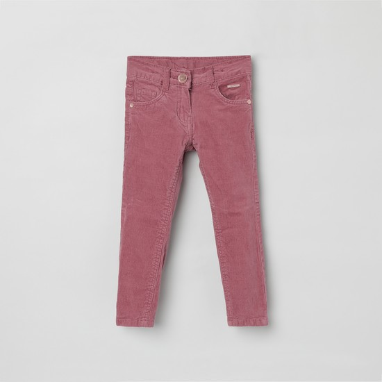 MAX Textured Corduroy Trousers