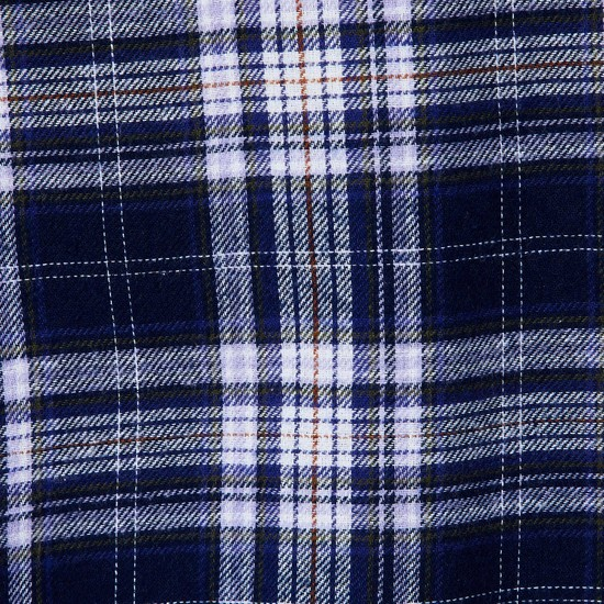MAX Roll-Up Sleeves Checked Longline Top