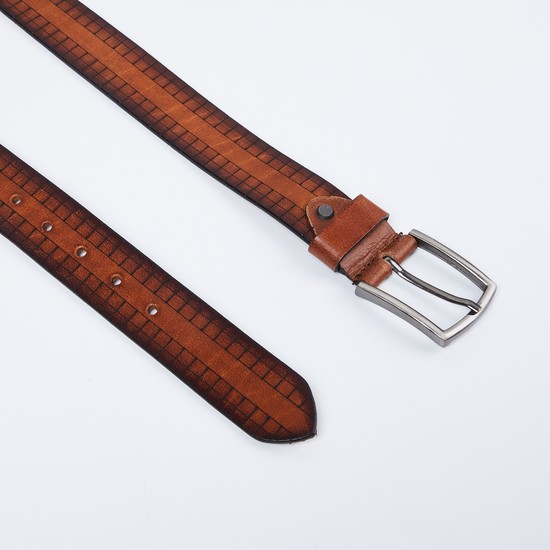 MAX Checked Casual Belt
