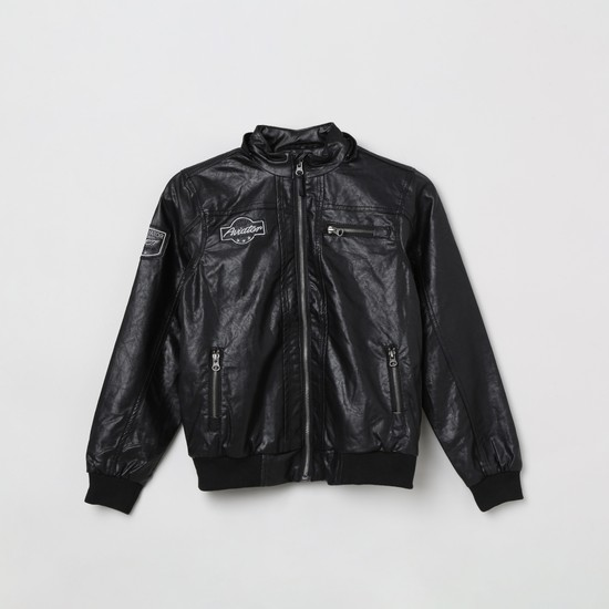 MAX Patchworked Hooded Jacket