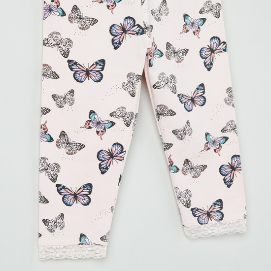 MAX Butterfly Print Leggings