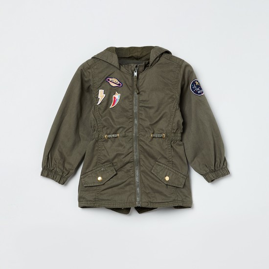 MAX Hooded Jacket with Applique
