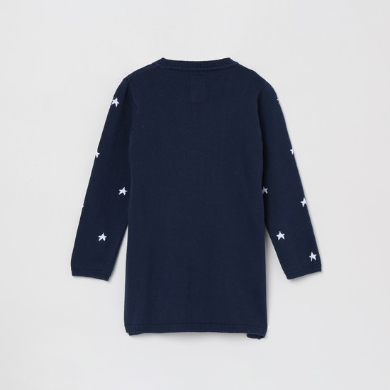 MAX Jacquard Embroidered Sweater
