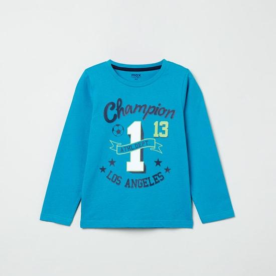 MAX Graphic Print Long Sleeves T-shirt