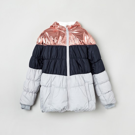 MAX Colourblock Quilted Jacket