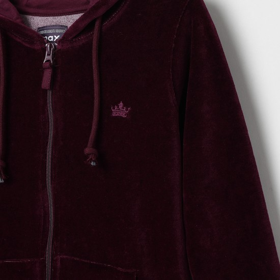 MAX Hooded Jacket with Long Sleeves