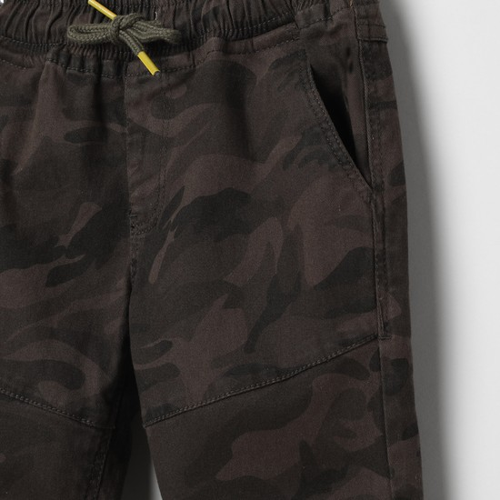 MAX Camouflage Print Joggers