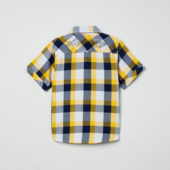 MAX Checked Half-Sleeves Shirt