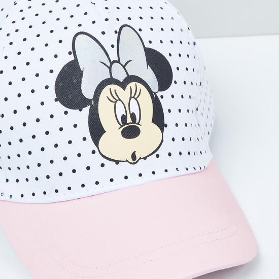 MAX Minnie Mouse Print Baseball Cap
