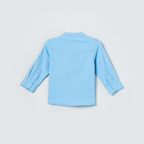 MAX Solid Full Sleeves Shirt