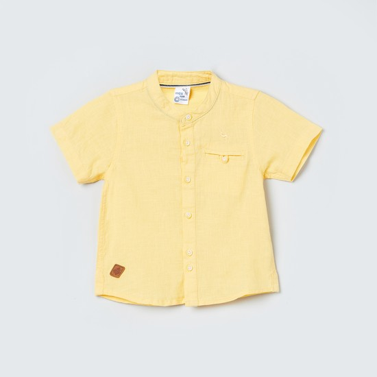 MAX Solid Half-Sleeves Shirt