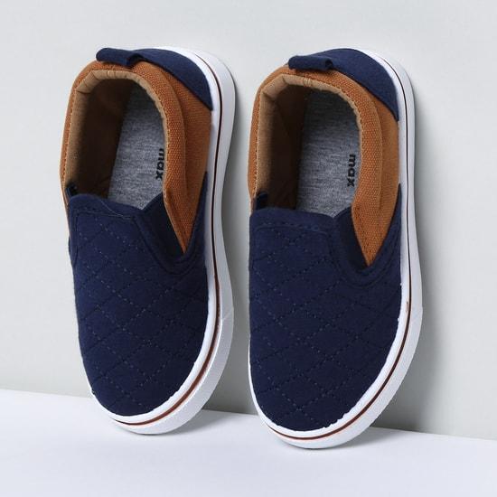 MAX Colourblocked Slip-On Shoes