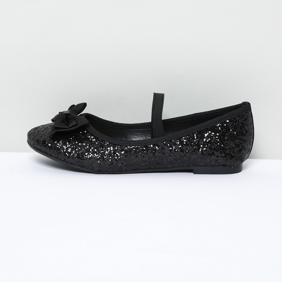 MAX Shimmery Ballerinas wihth Bow