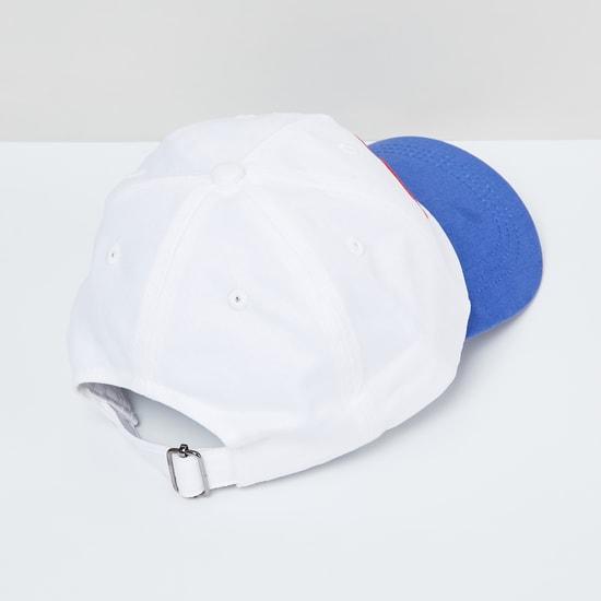 MAX Appliqued Colourblock Cap