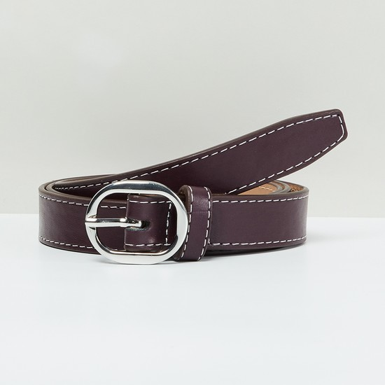 MAX Belt with Running Stitch Detail