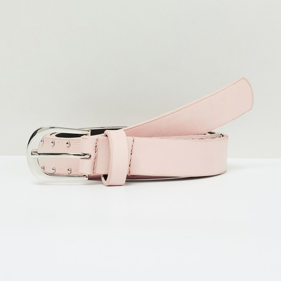 MAX Studded Belt with Buckle Closure