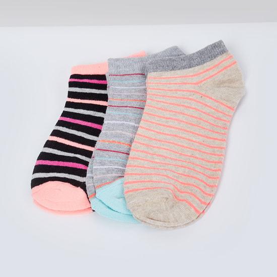 MAX Striped Socks - Pack of 3 Pc.