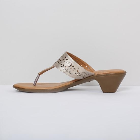 MAX Laser-Cut Detailed Block Heels