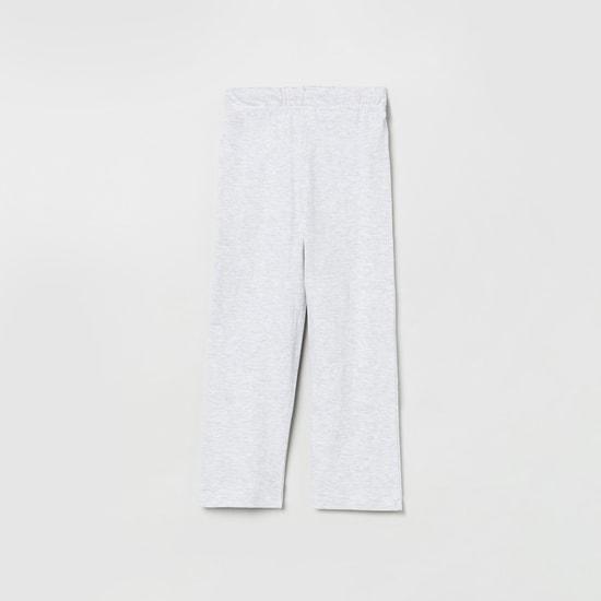 MAX Typographic Print Lounge T-shirt with Pyjama Pants