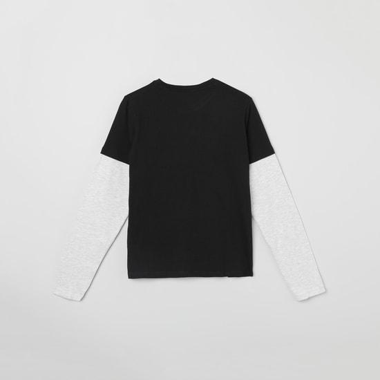 MAX Printed T-shirt and Elasticated Pants