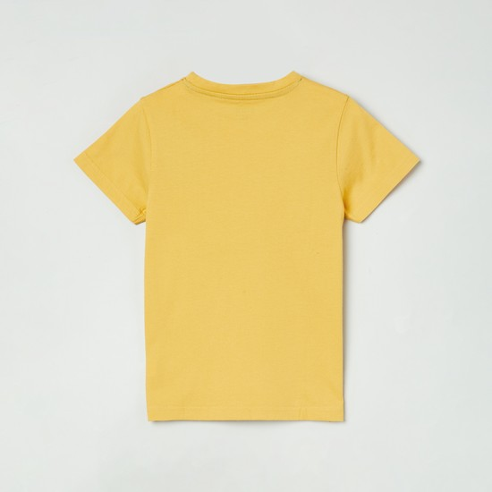 MAX Short Sleeves T-shirt with Chest Print