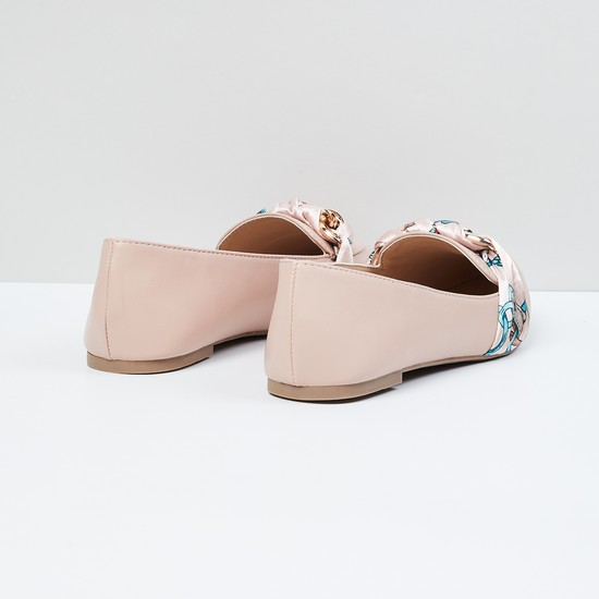 MAX Braided Detail Pointed-Toe Loafers