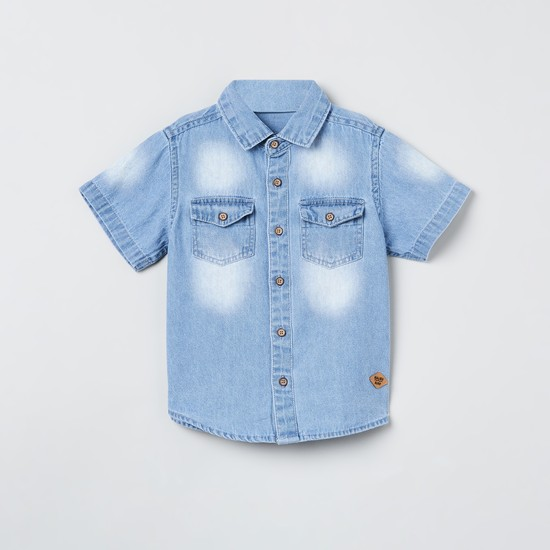 MAX Washed Denim Shirt
