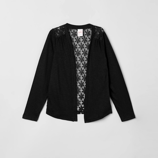 MAX Floral Lace Shrug