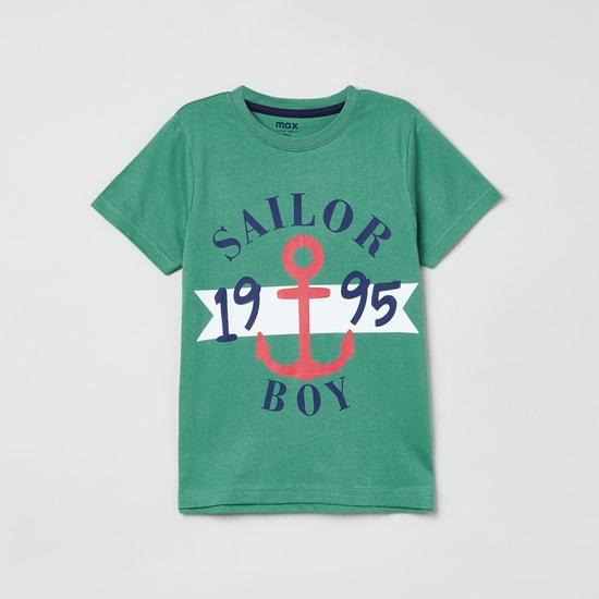 MAX Printed Crew Neck T-shirt - Set of 5